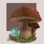 Fantasy Mushrooms by Ninja1987