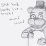 Lovable Freddy by Shawnlabomb
