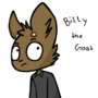 billy the goat by andiecreep