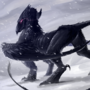 Hell's Griffin by frozen-scumbag
