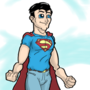 Action Comics Superman by BazzWhereman
