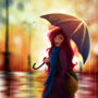 In the Rain 3 by artbyLexi