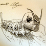 #010_Caterpie by Manguinha