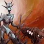 Machine monster lady by FASSLAYER