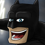 Cocky Batman Selfie by Linuch