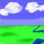 Landscape by kymeloart