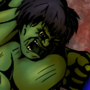 The Hulk vs Superman by MelesMeles
