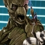 Groot&Baby Rocket SuperSelfie!