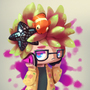 Splatoon Hat Merchant by ToqaReign