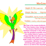 Fact File: Ma-Caw by IAmTheUnison