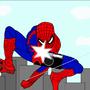Spiderman Selfie by rymation