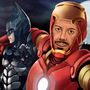Iron Man and Batman Selfie by LucasCharnyai