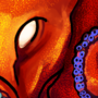 Octopus Sticker by Rhunyc