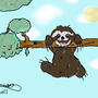 A Sloth drawing by TNTspez