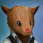 Rat Portrait Thing by 123mine123
