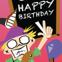 Teacher's Birthday Card by Spudzy