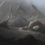 Landscape: rocky desert by Acrylla