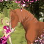 horse and girl by bgclada