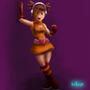 OrangeGirl by IceBurger