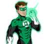 Green Lantern Comic Colored by TheIYouMe