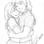 Beautiful embrace