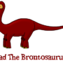 Brad the Brontosaurus by Slyck