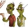 Zombie friends by SmokeryDots
