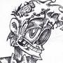 Groggy Zombie by CourageousCosmic