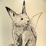 #025_Pikachu by Manguinha
