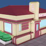 Low Poly Restaurant by M-Abrantes