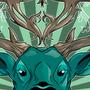 Valentine Deer by Scavenger25