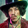 Jimi Hendrix by TheSmokingOwl