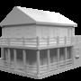 Farm House (3D) by jsabbott