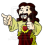 Commission Buddy Christ by SirVego