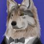 Tuxedo Wolf by 123mine123
