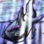 cute shark just wants a kiss by Horsenwelles