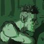 Orcs in the swamp by Asperchu