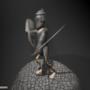 Fantasy Knight Idle Cycle 1 by ShadyDingo