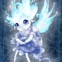 Candlit the Bluecap. by Kayas-Kosmos