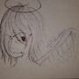 Angel Sketch by ThaFallenOne