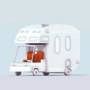 Low Poly RV by devilsgarage