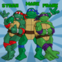 Ninja Turtles piece by TheIYouMe