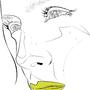 medio amarillo