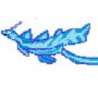 Water Dragon Pixel Art by Defuseler