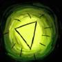 we found a gold trigon by Blazedol