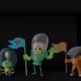 Alien Designs by Buckycarbon
