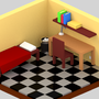 Little isometric room by RazvanGabriel