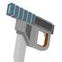 sci-fi deul pistols