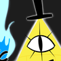 Bill Cipher by AlixBalica