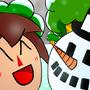 Snowman Friend by Axelstation